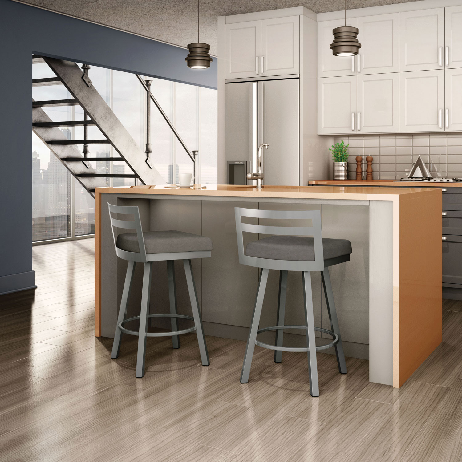 modern counter height stools baxton studio crawford modern and