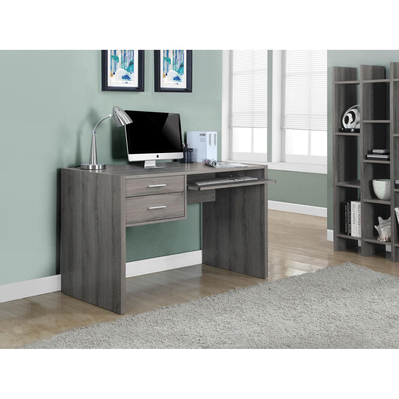 drawer computer desk  dark taupe  desks  workstations  best  - drawer computer desk  dark taupe  desks  workstations  best buy canada