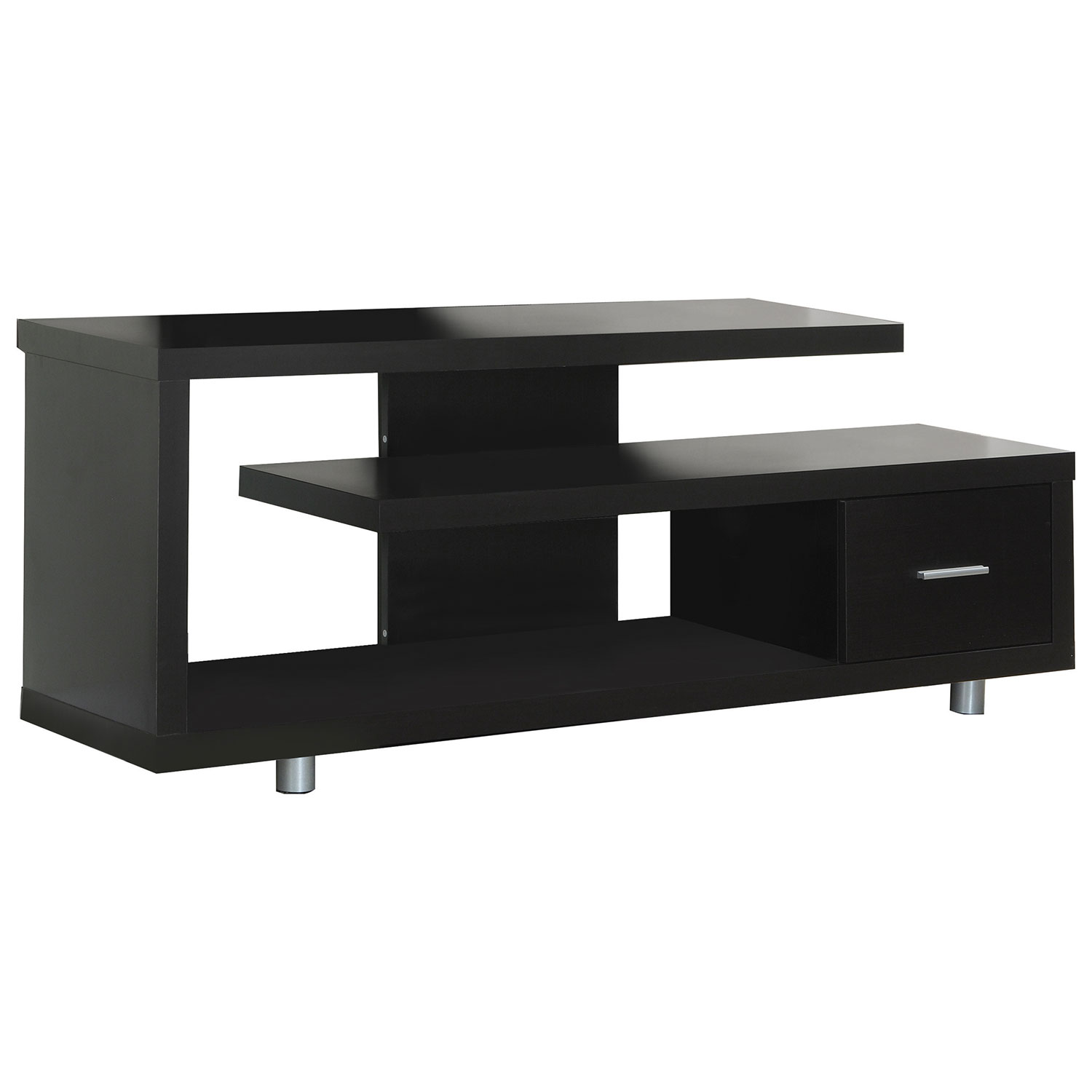 monarch open tv stand for tvs up to  (i )  cappuccino  tv  - monarch open tv stand for tvs up to  (i )  cappuccino  tv stands best buy canada
