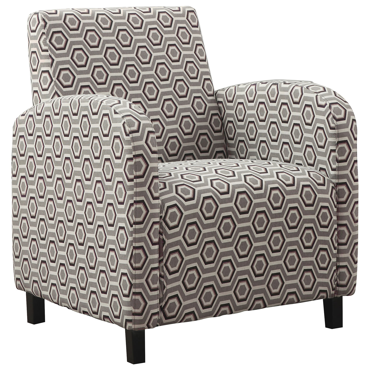 Contemporary Fabric Accent Chair Grey Accent Chairs Best Buy