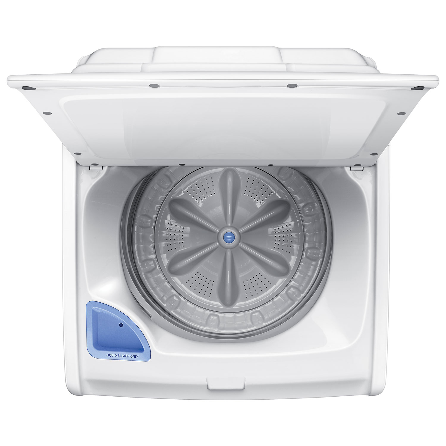 Topload Washer Samsung 49 Cu Ft High Efficiency Top Load Washer Wa40j3000aw