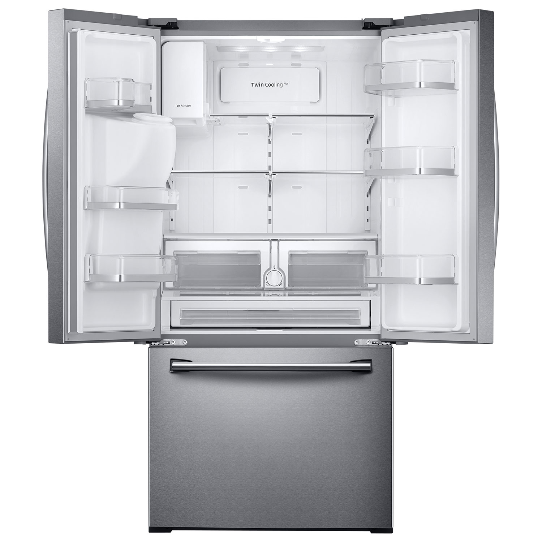 sharp french door fridge. ft. french door refrigerator (rf26j7500sr/aa) - stainless steel : refrigerators best buy canada sharp fridge e