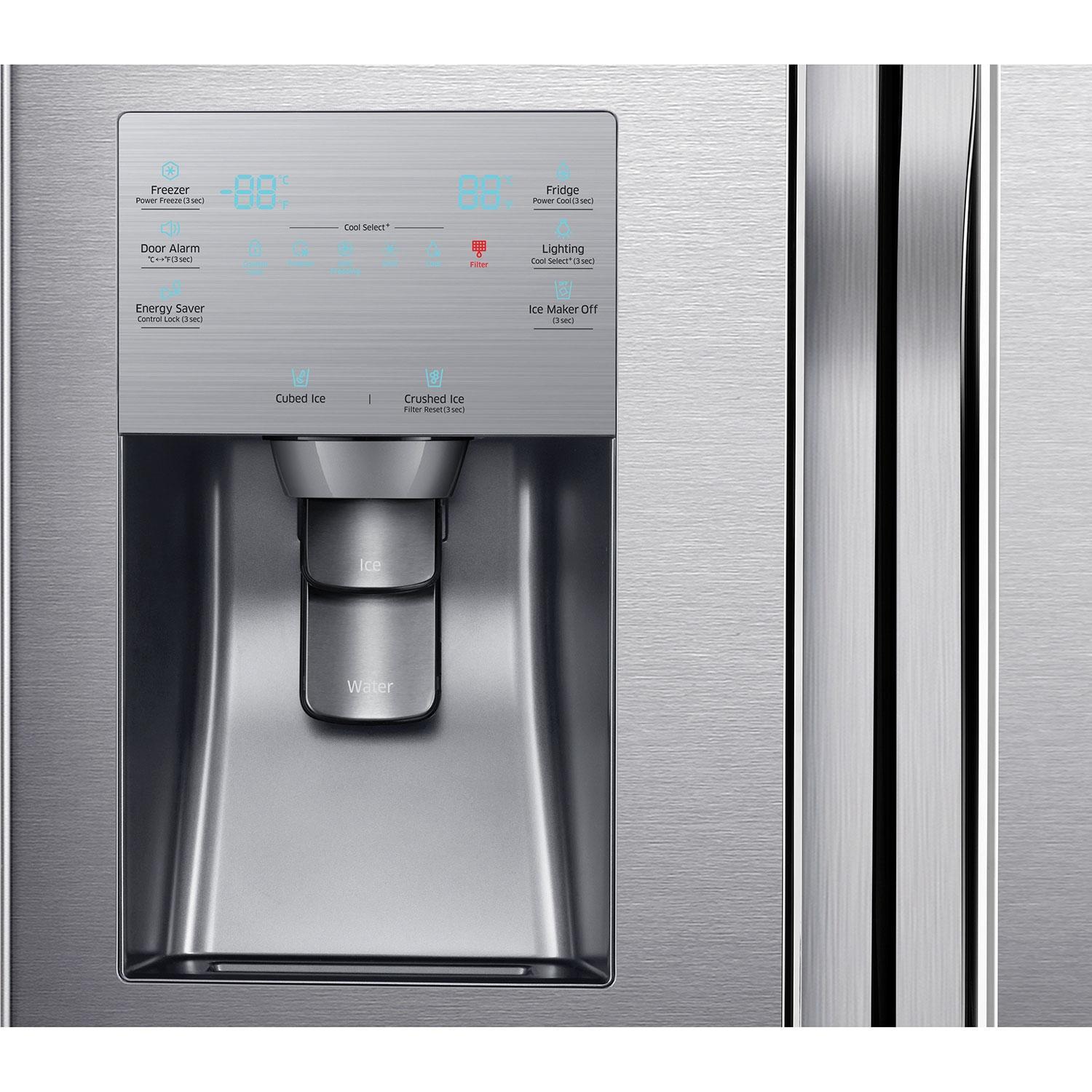 Huge Refrigerator Samsung 357 225 Cu Ft 4 Door French Door Refrigerator