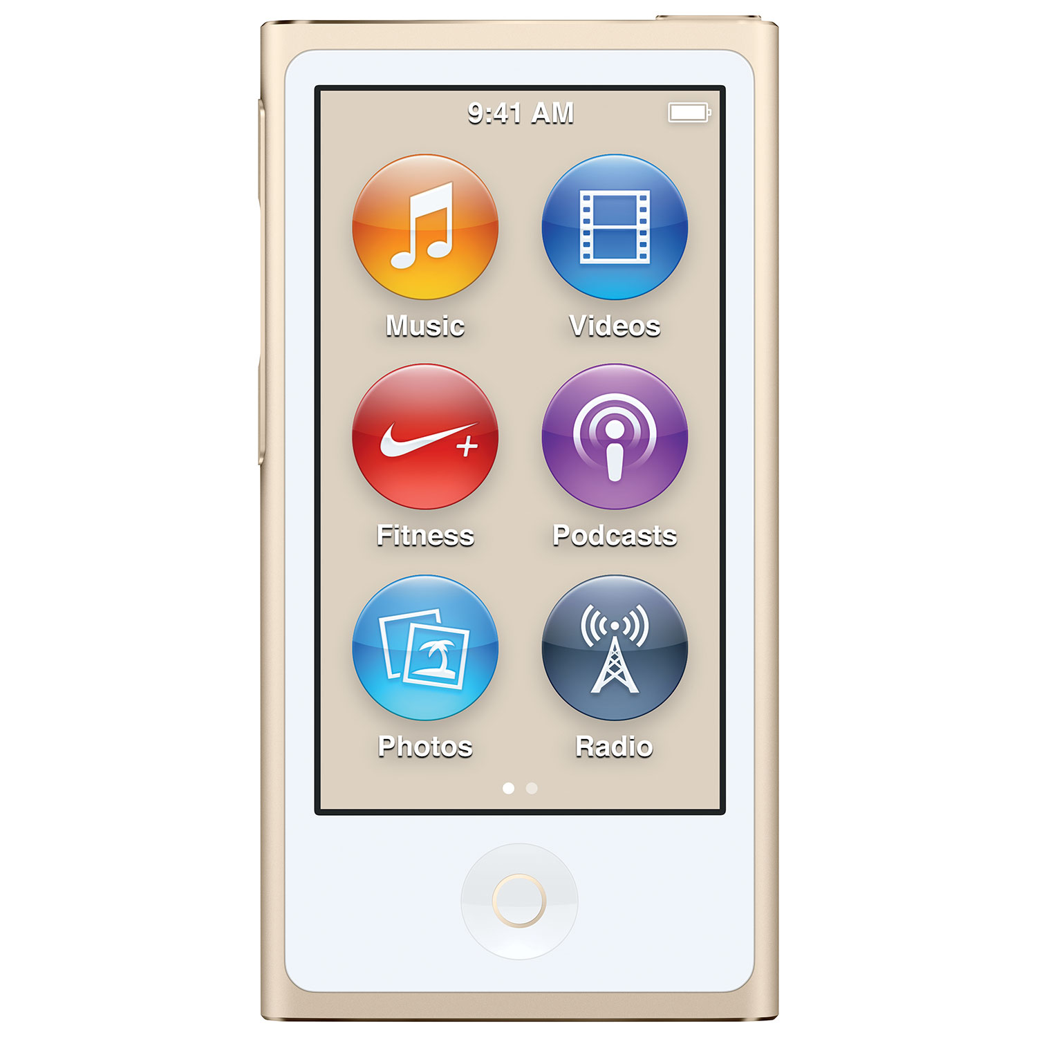Apple iPod nano 7th Generation 16GB - Gold : Apple iPod - Best Buy Canada