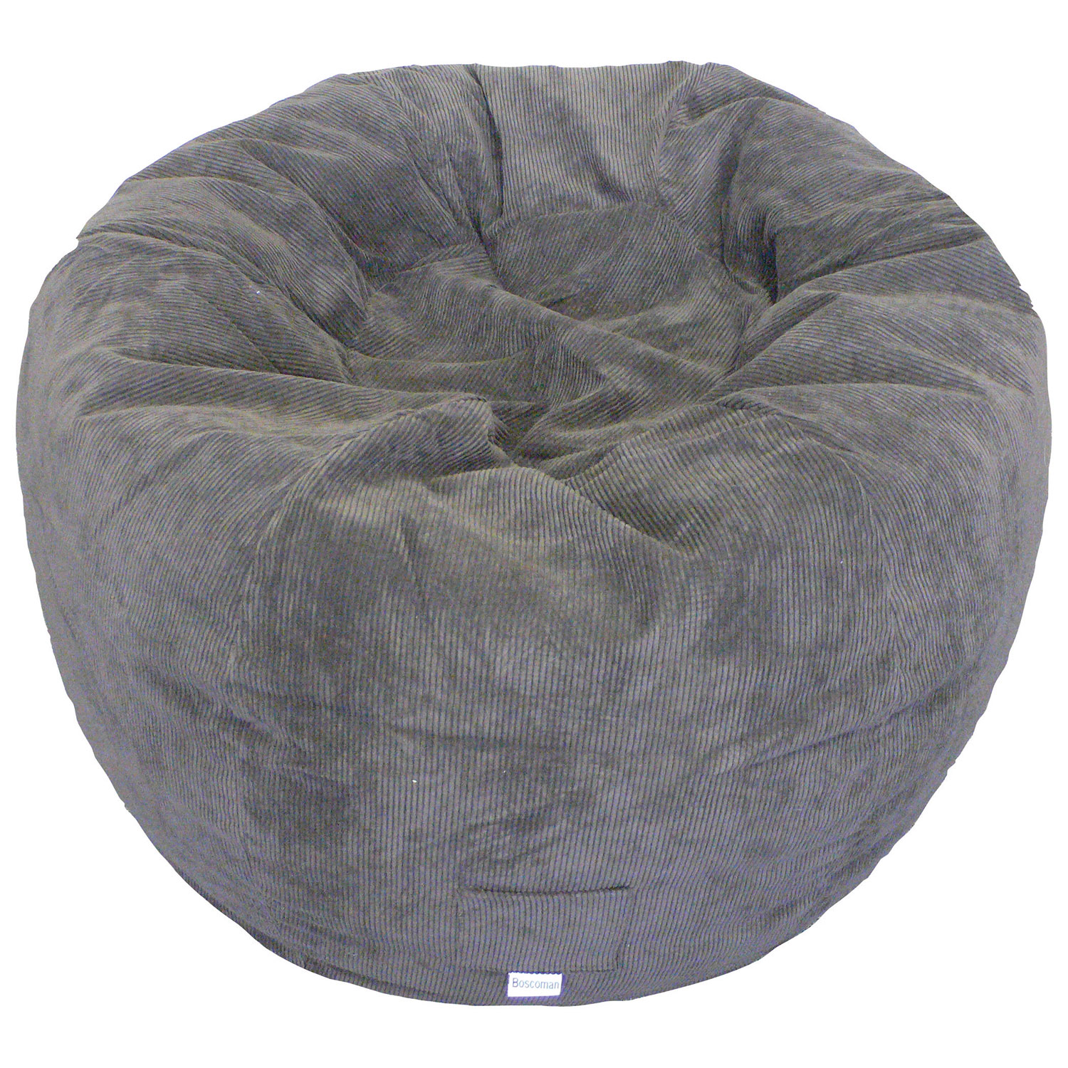 Contemporary Jumbo Corduroy Bean Bag Chair Chocolate Kids