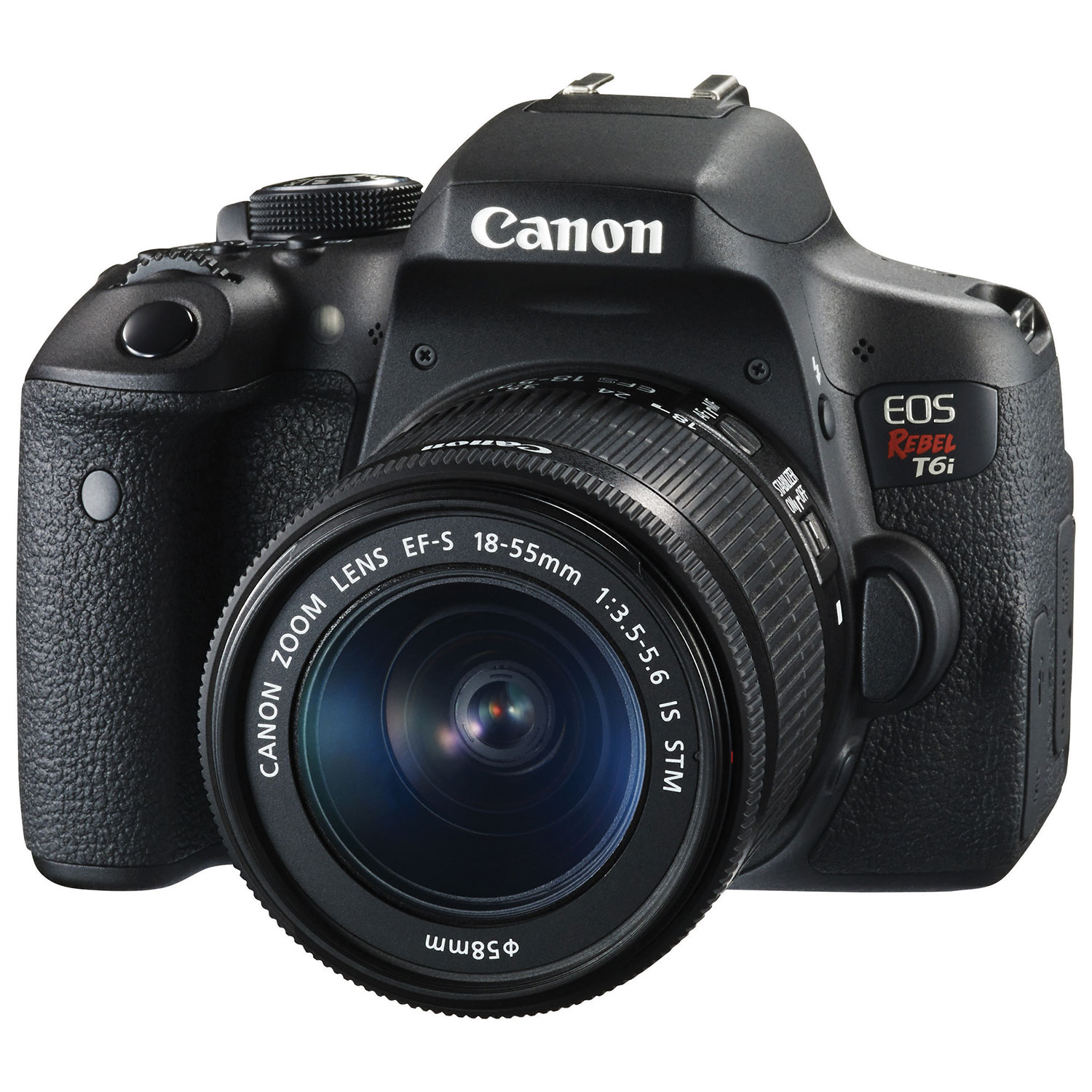 canon eos rebel t6i dslr camera with 18 55mm is stm lens kit