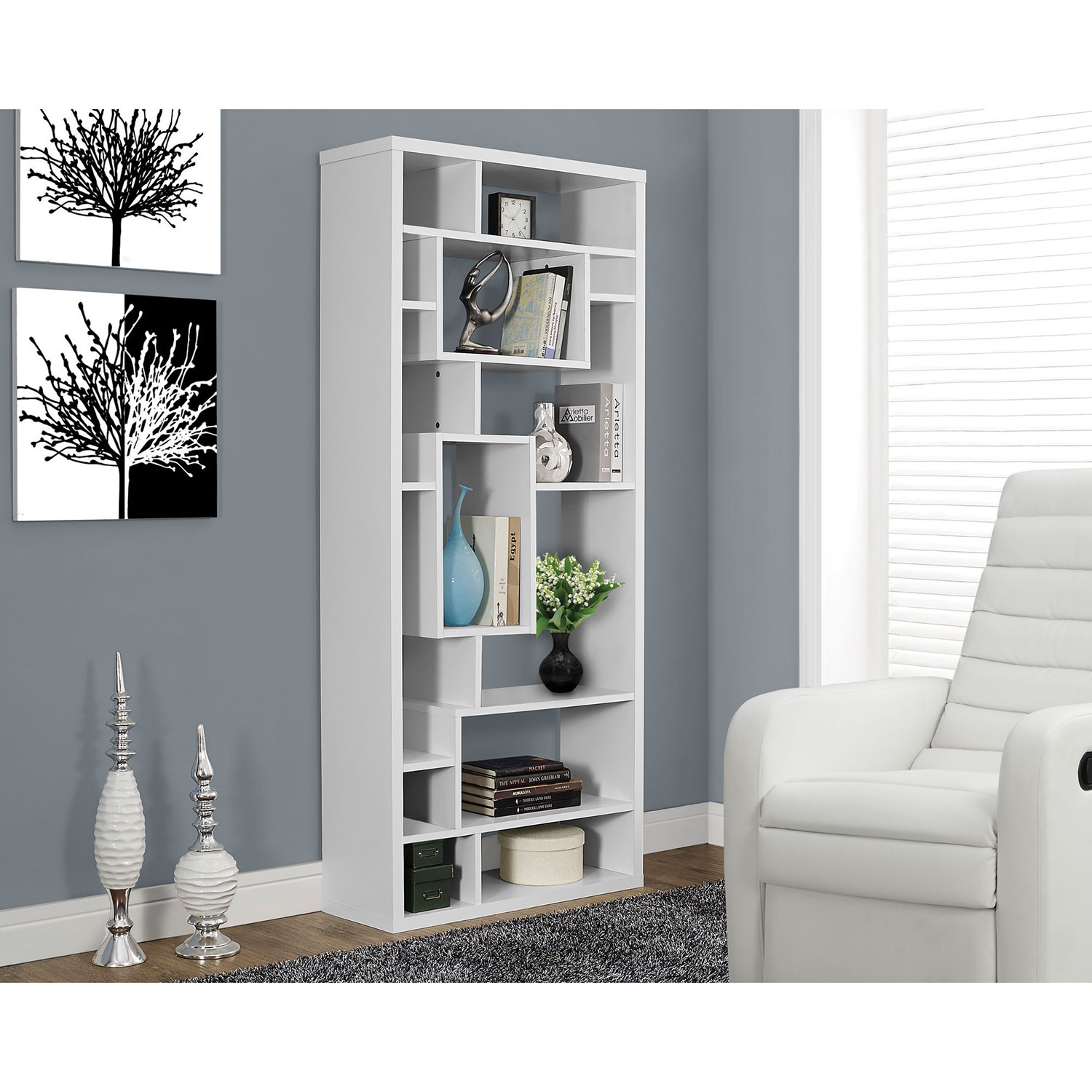 with modern in composition unit shelving temahome options bookcase panels bookshelf white pinterest back pin bookcases puzzle green pure or display dommellair colour