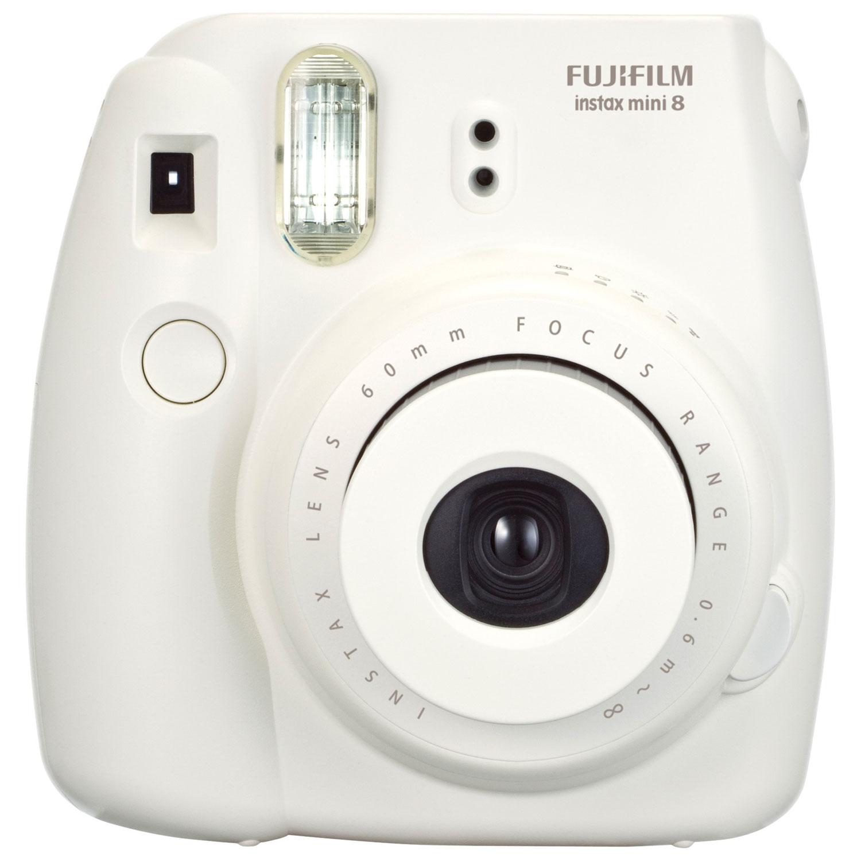 Fujifilm Instax Mini 8 Instant Camera Kit - White : Instant ...