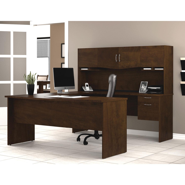 Bestar Harmony Workstation   Chocolate : Desks U0026 Workstations   Best Buy  Canada