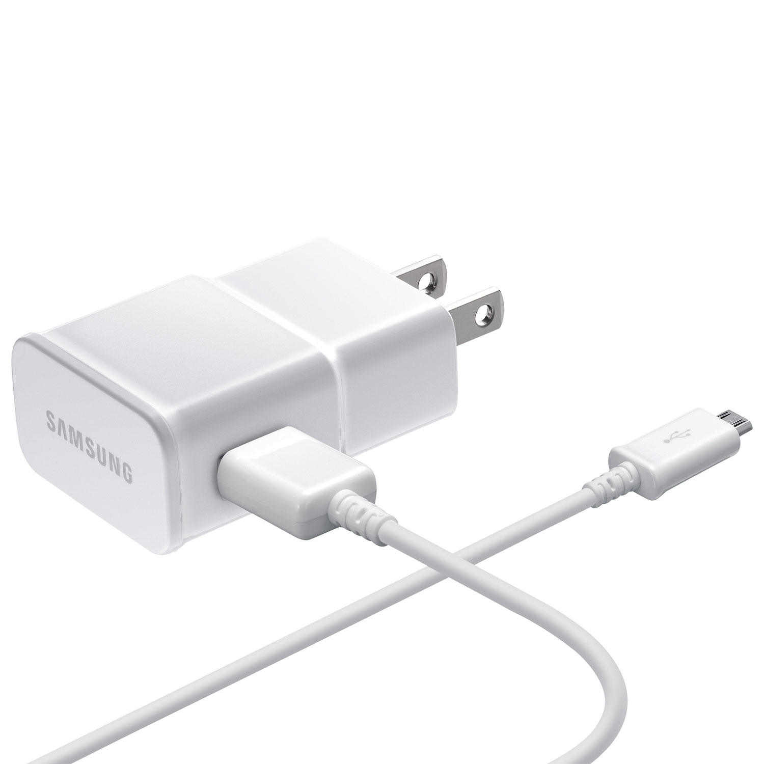 Samsung 1 m 3 ft adaptive fast charging microusb wall charger ep adaptive fast charging microusb wall charger ep ta20jweugca white usb homewall chargers best buy canada greentooth Gallery
