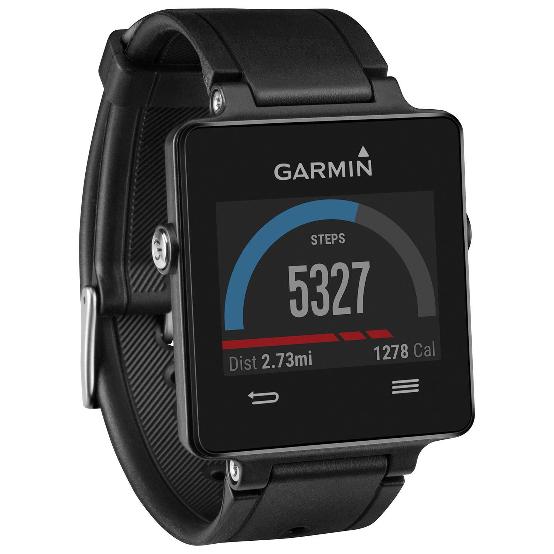 Garmin Vivoactive Gps Watch Large Black Smartwatches Best Buy Canada