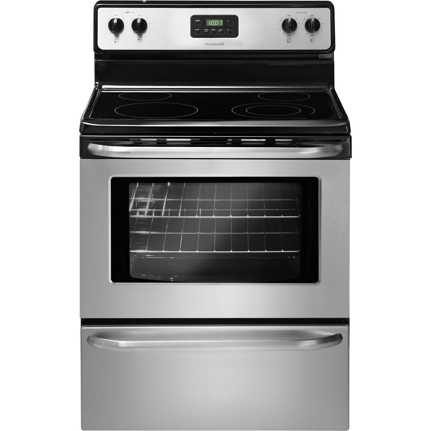 Kitchen Appliance Packages Canada Frigidaire 30 48 Cu Ft Easy Clean Smooth Top Range Cfef3043rs