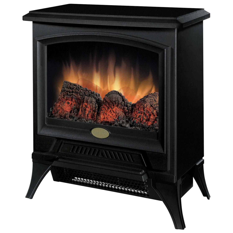 Dimplex Freestanding Electric Stove Fireplace (CS-12056A) - Black ...