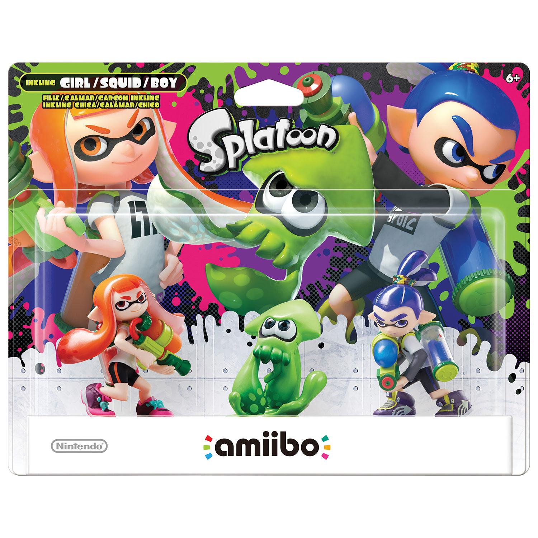Game boy color quanto custa - Amiibo Splatoon Girl Squid Boy Pack