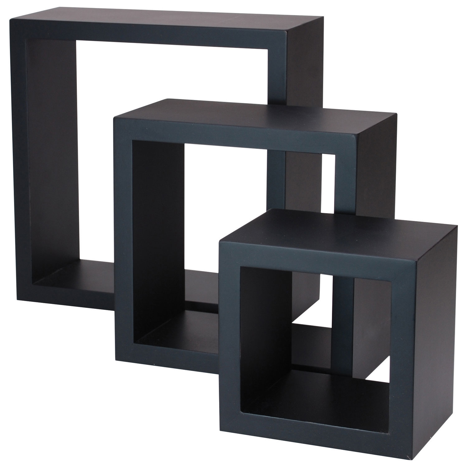 Cubbi 3 piece wall shelf black bookcases shelving best buy cubbi 3 piece wall shelf black bookcases shelving best buy canada amipublicfo Gallery