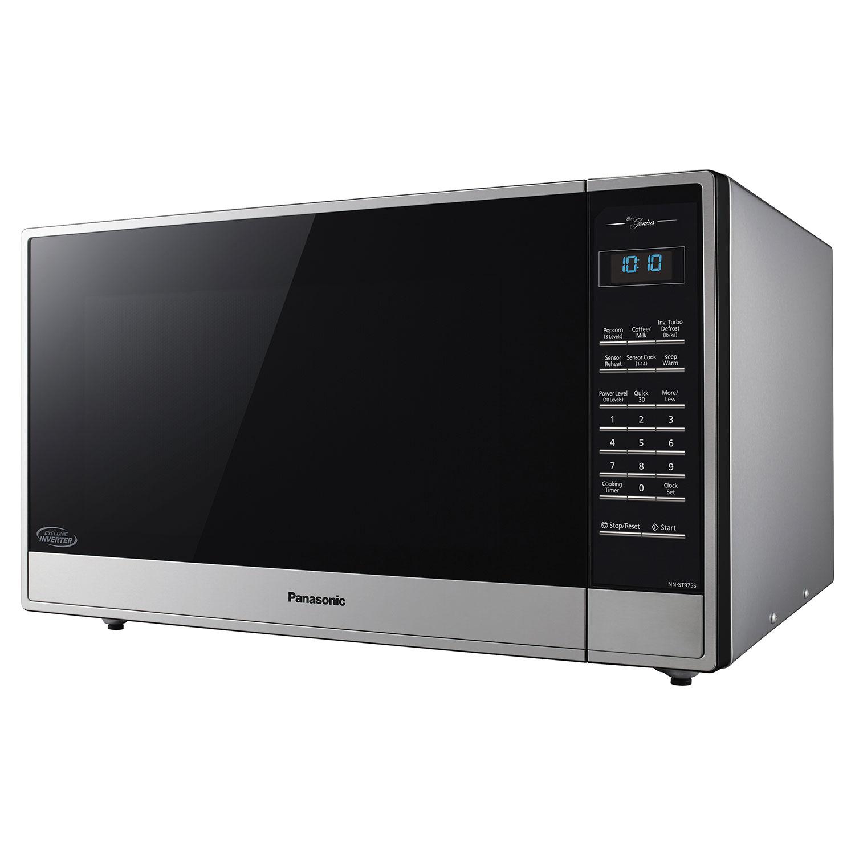 10373125_1 panasonic countertop microwave 2 2 cu ft stainless steel  at n-0.co