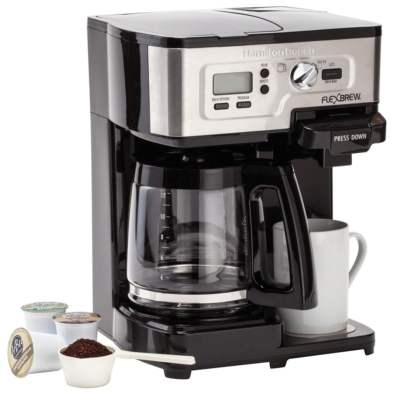 Hamilton Beach 12 Cup Multi Functional Coffee Maker 49983c Black