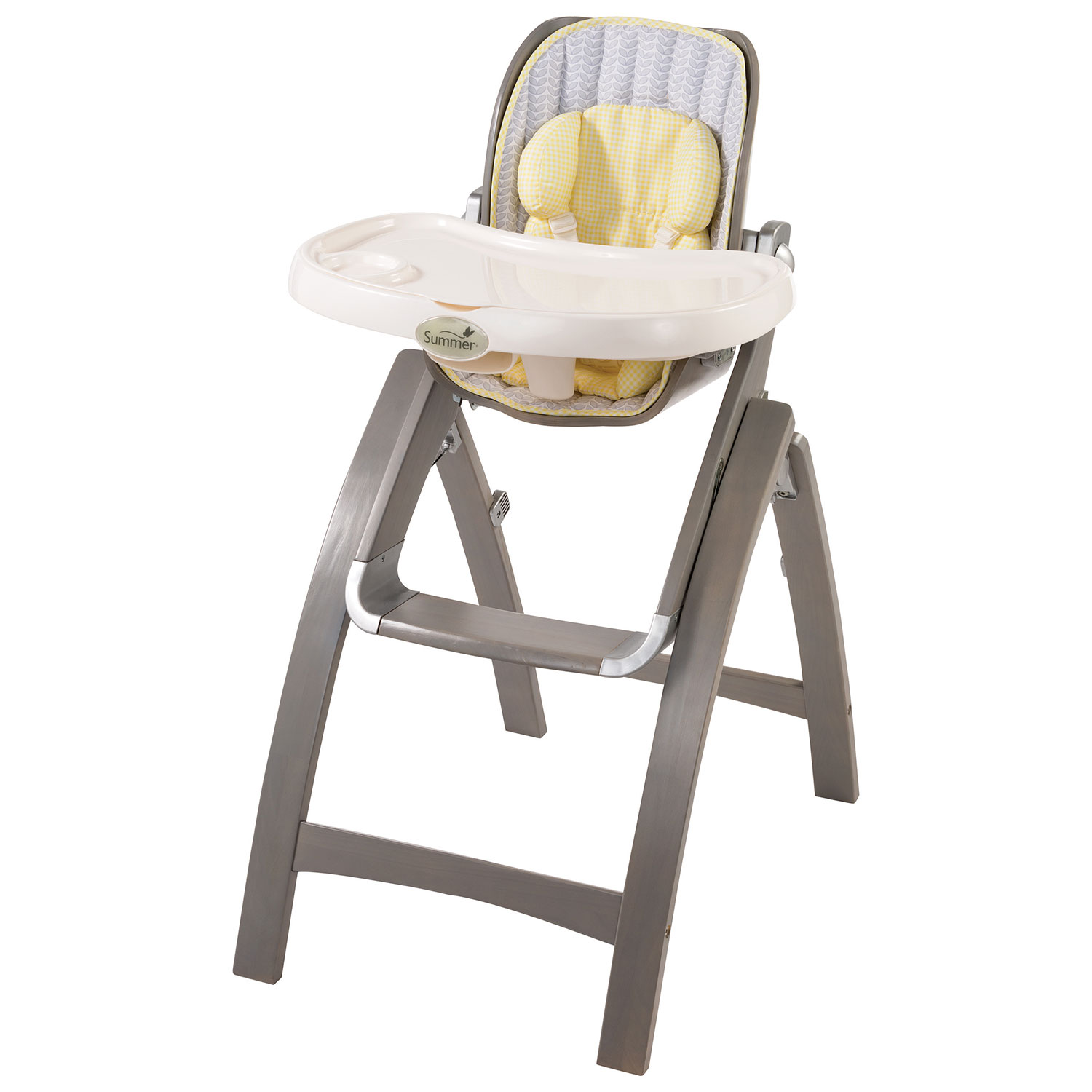 Summer Infant Bentwood High Chair Chevron Leaf High Chairs