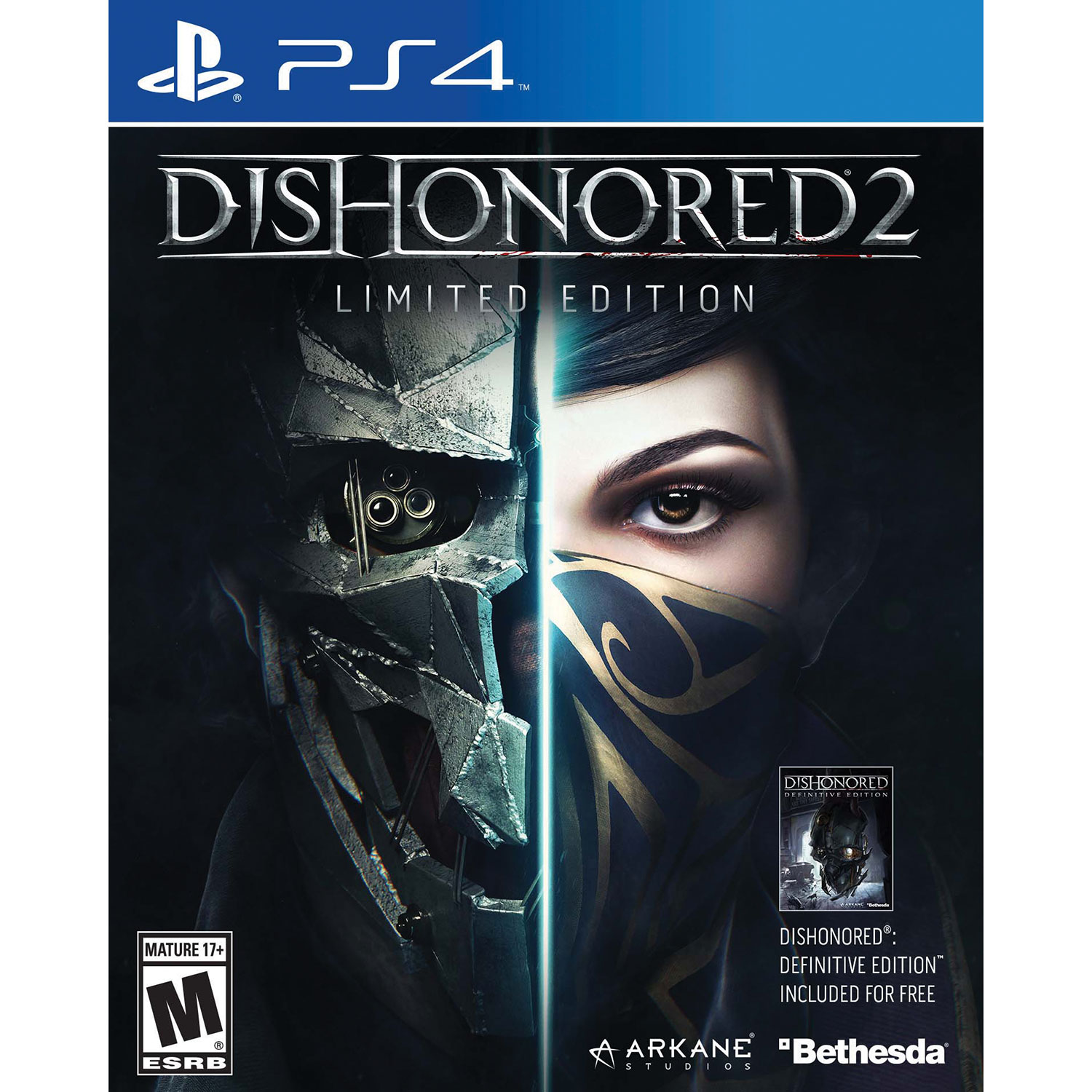 [Best Buy]Dishonored 2 + Dishonored Definitive $49.99 Save $30