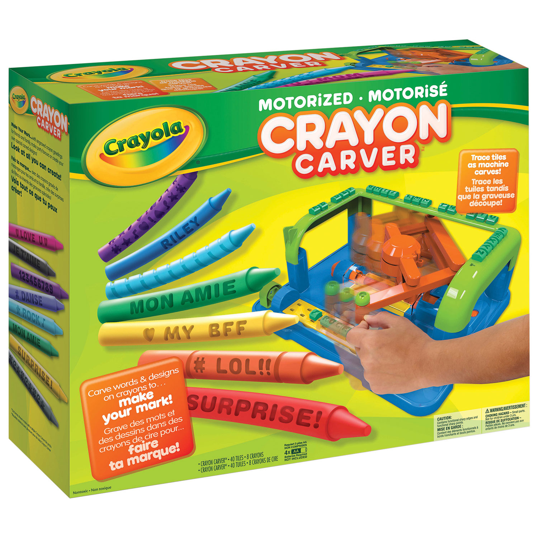 Crayon Rings Crayola Motorized Crayon Carver Craft Bead Jewelry Sets