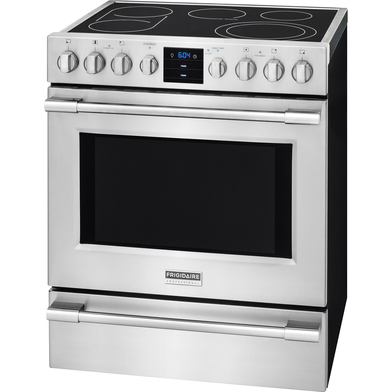 Professional Electric Ranges For The Home Frigidaire Pro 30 51 Cu Ft Self Clean Convection Free Standing