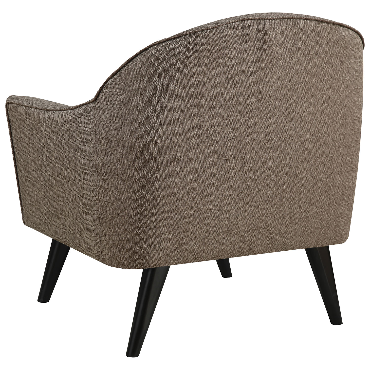 casana contemporary polyester accent chair  brown  accent chairs  - casana contemporary polyester accent chair  brown  accent chairs  bestbuy canada