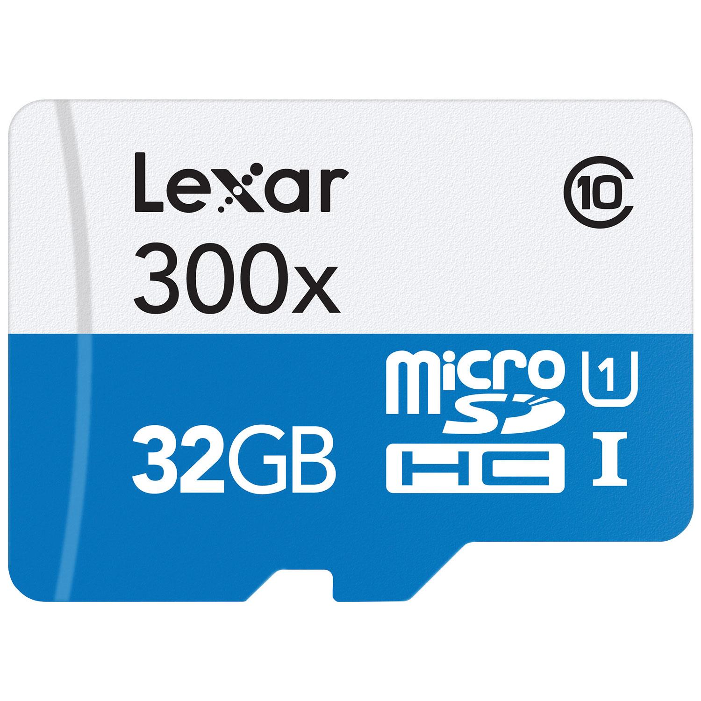 Lexar 32gb 300x Microsdhc Class 10 Memory Card Microsd Sd Sandisk Microsdxc Best Buy Canada