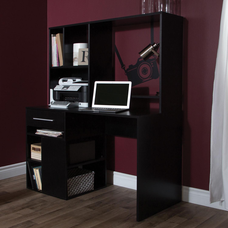 Annexe 1 Drawer Computer Desk   Pure Black : Desks U0026 Workstations   Best  Buy Canada