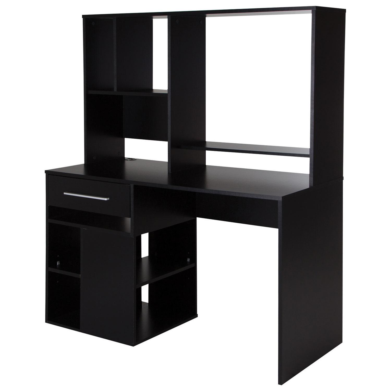 annexe 1drawer computer desk pure black desks u0026 best buy canada