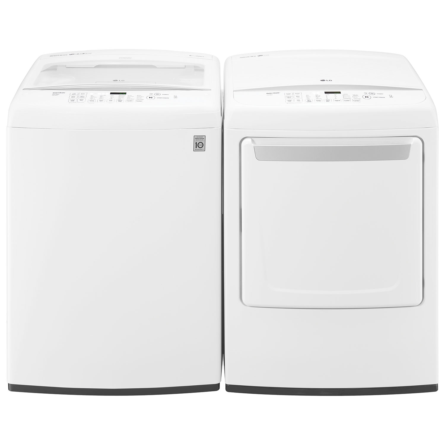 Topload Washer Lg 52 Cu Ft High Efficiency Top Load Washer Wt1501cw White