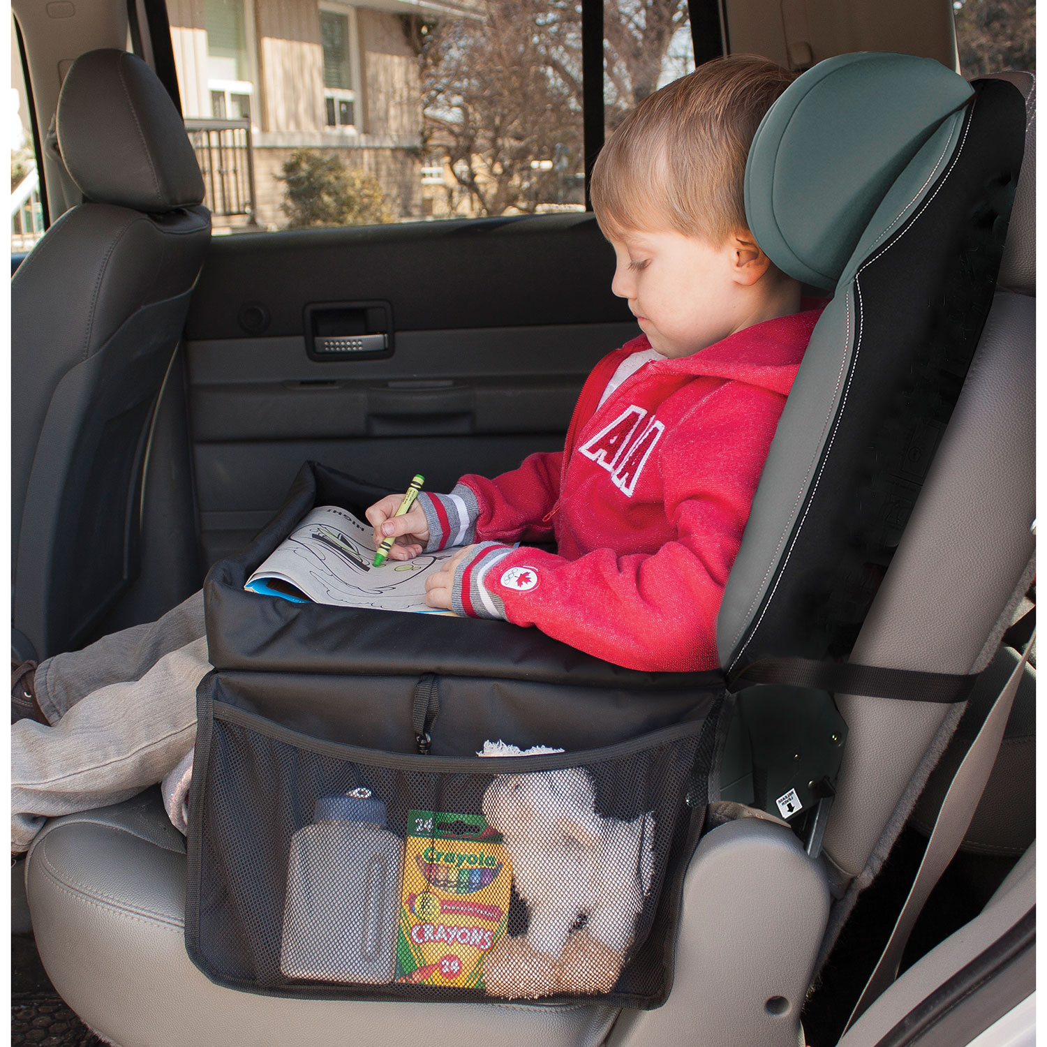 4c92d636aa69 Jolly Jumper Car Seat Travel Tray - Black   Car Seat Accessories ...