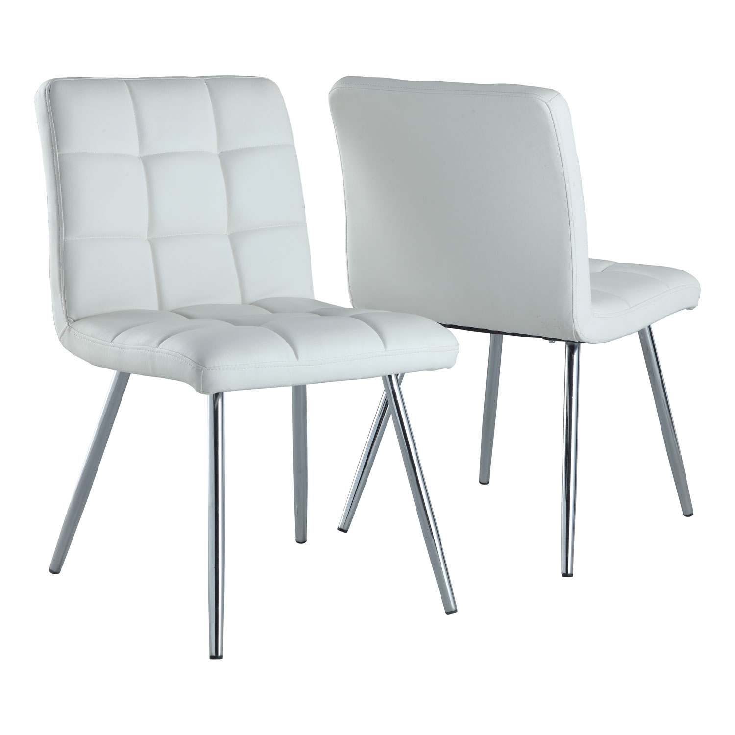 Modern DiningChair Set of 2 White Dining Chairs Best
