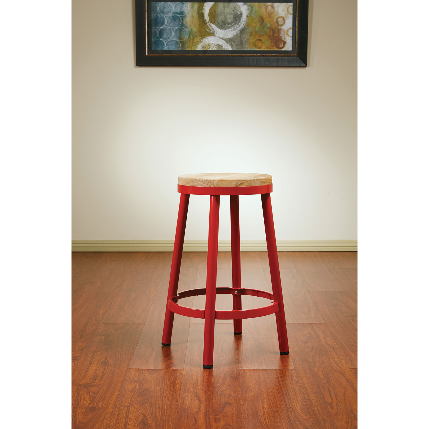 Bristow contemporary counter height bar stool red online only