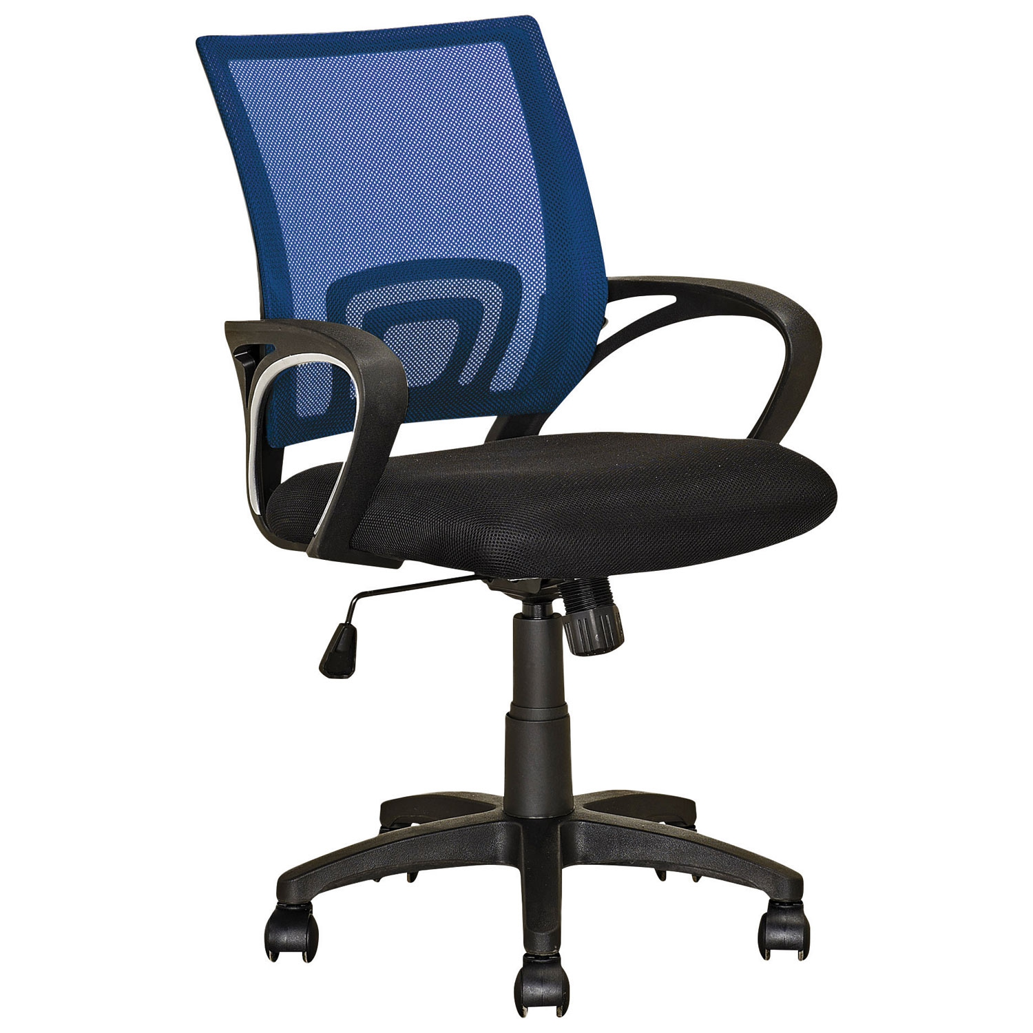 CorLiving Mid Back Task Chair Navy Blue fice Chairs Best