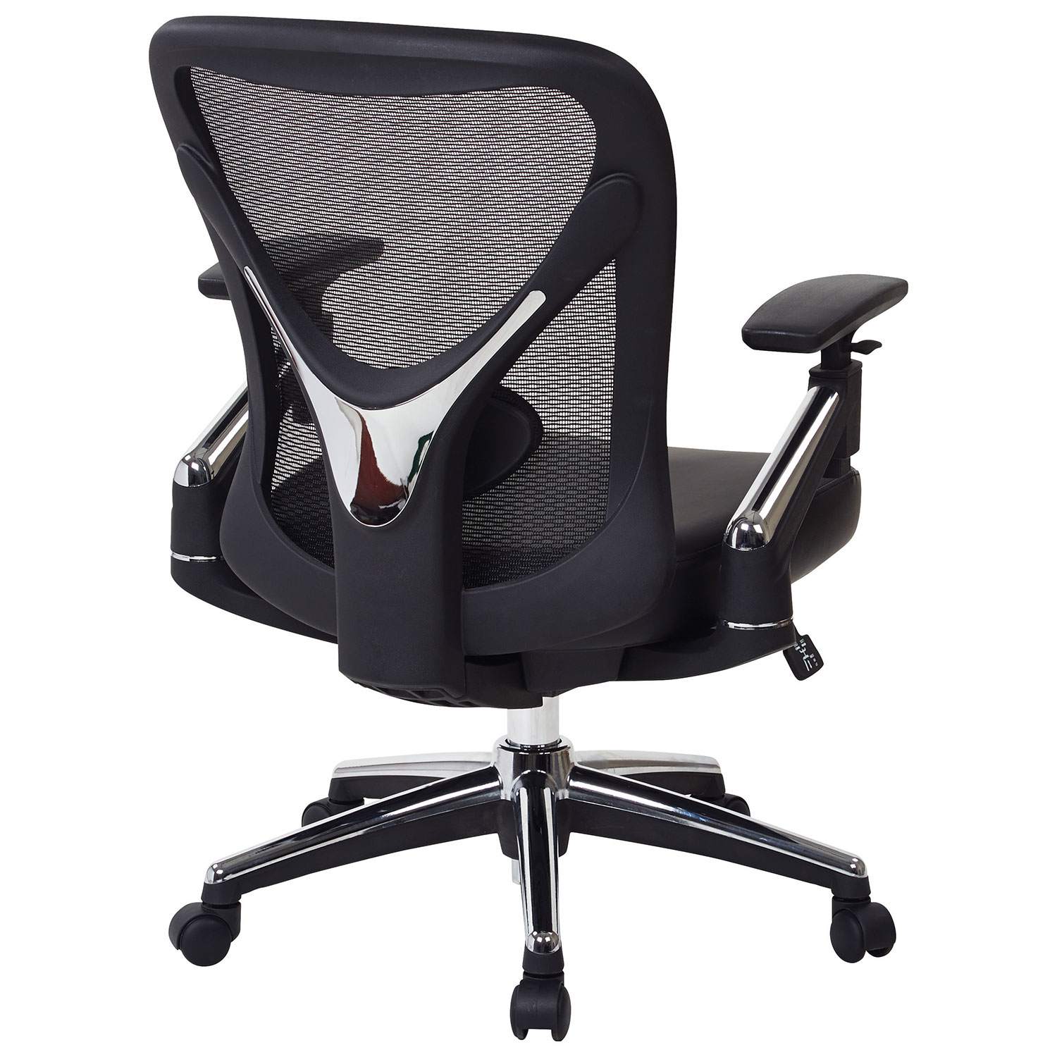 Office Star Professional Air Grid Deluxe Task Chair pro-line ii leather manager & executive chair - black : office