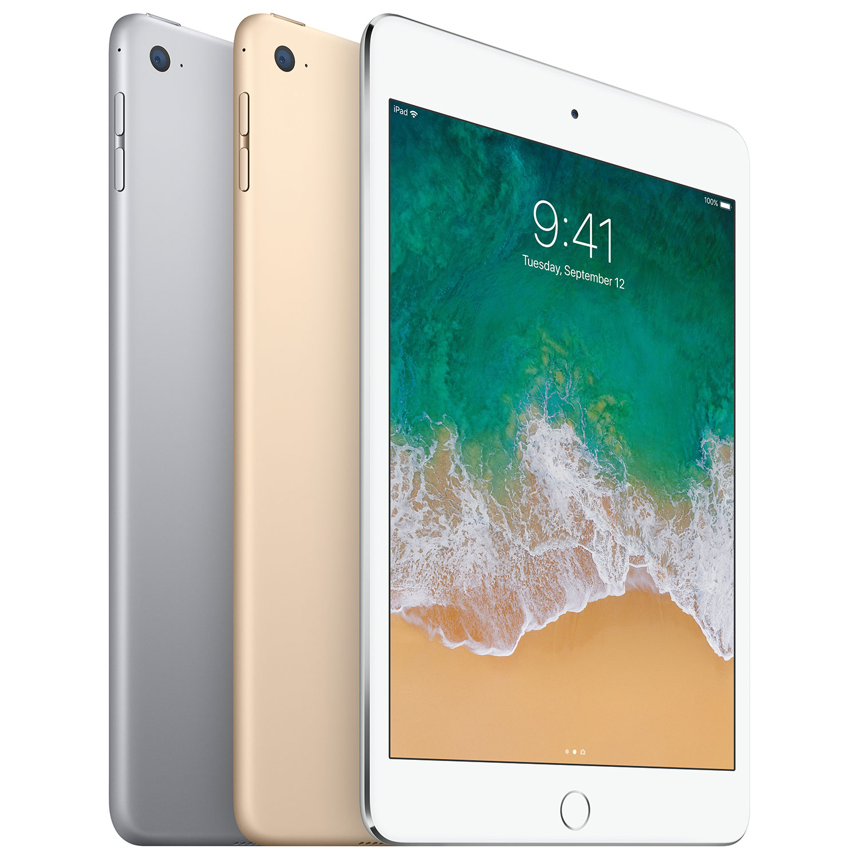 Apple Ipad Mini 4 128gb With Wi Fi 3g 4g 4g Lte Silver Best Buy Canada