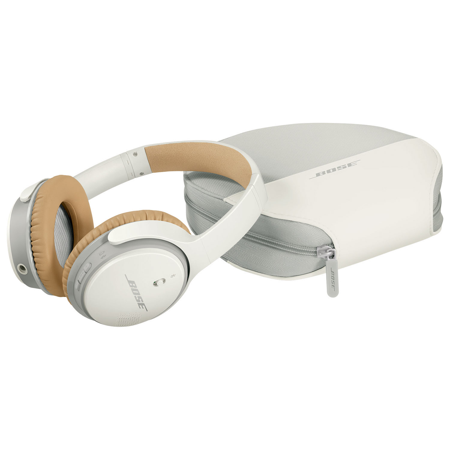 Bose SoundLink II Over-Ear Wireless Headphones with Mic - White ...