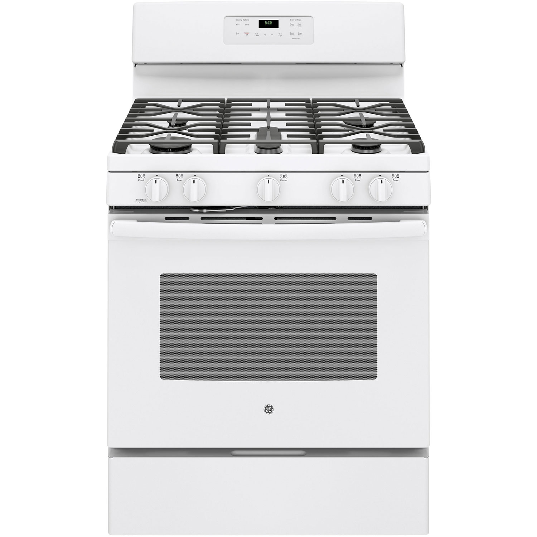 Gas Kitchen Ranges Ge 30 50 Cu Ft Free Standing Self Clean Gas Range
