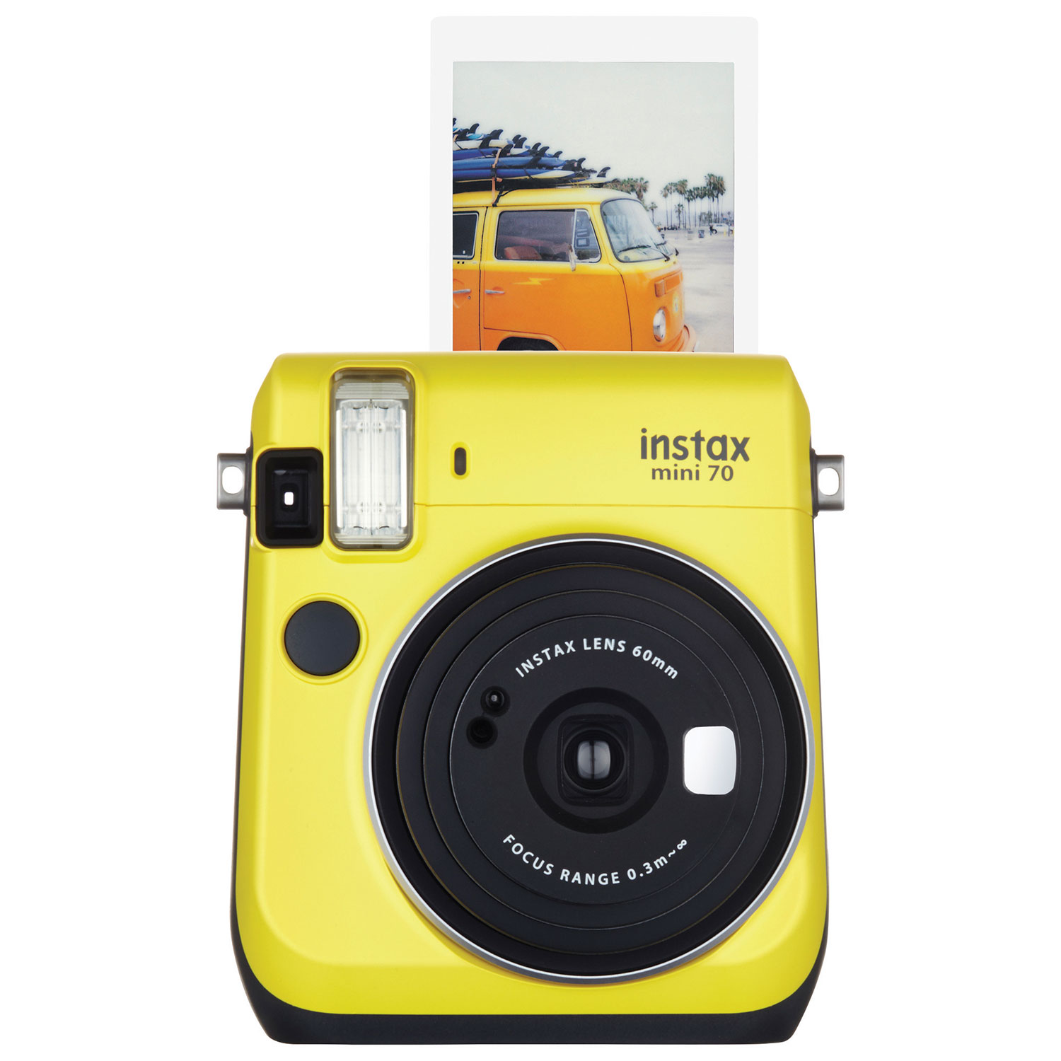 Fujifilm Instax Mini 70 Instant Camera Kit - Yellow : Instant ...