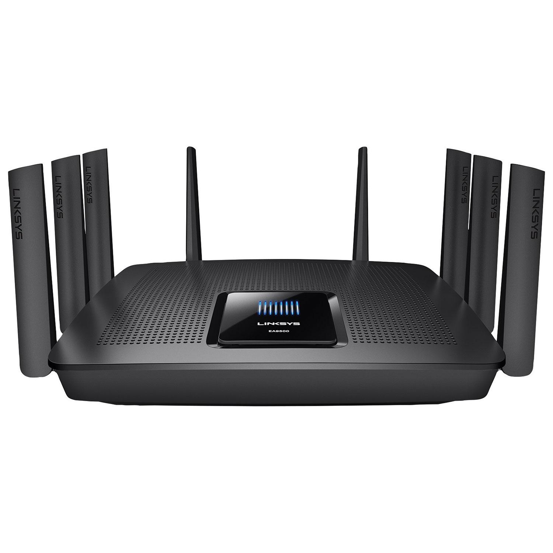 Linksys Max-Stream Wireless AC5400 8-Port Gigabit Router (EA9500-CA ...