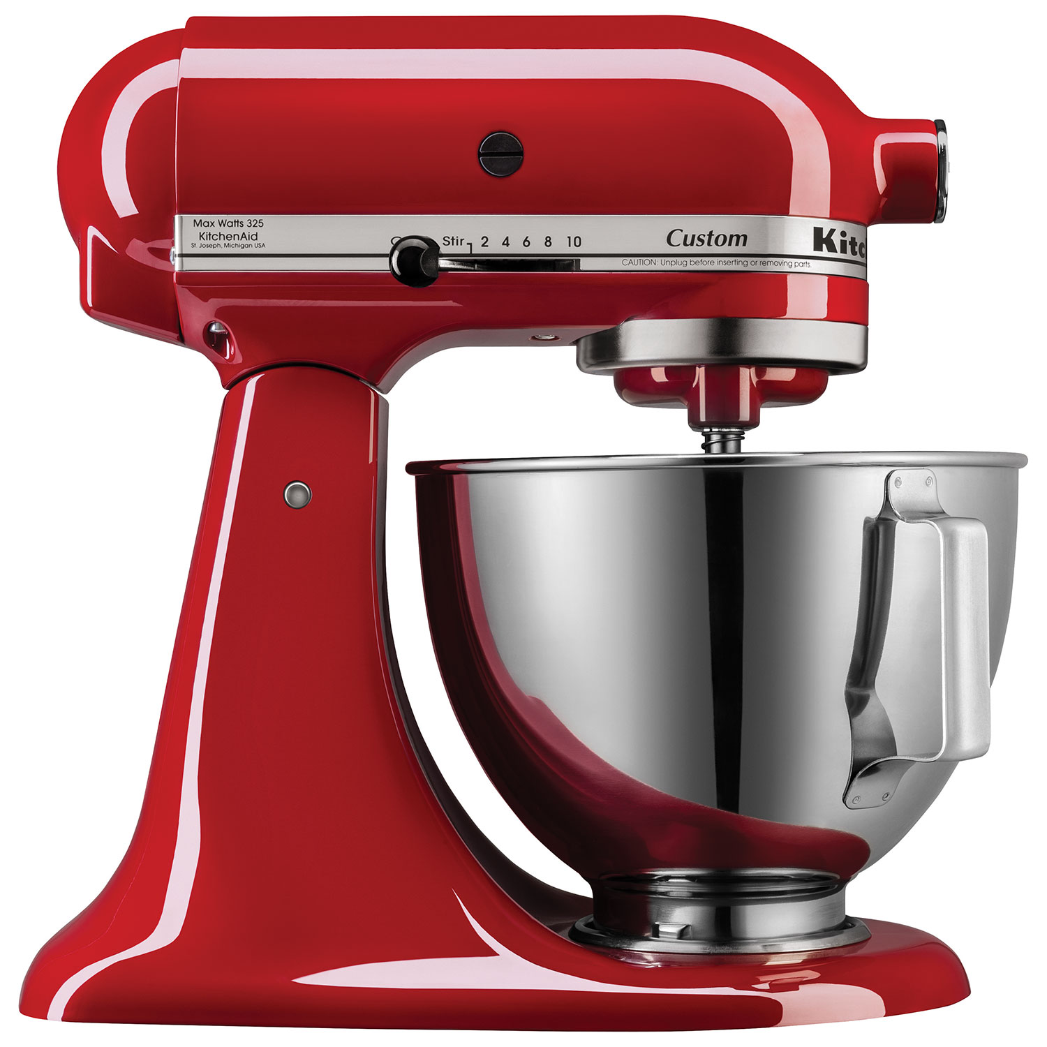 Kitchen small appliances edmonton - Kitchenaid Custom Stand Mixer 4 26l 325 Watt Empire Red Stand Mixers Best Buy Canada