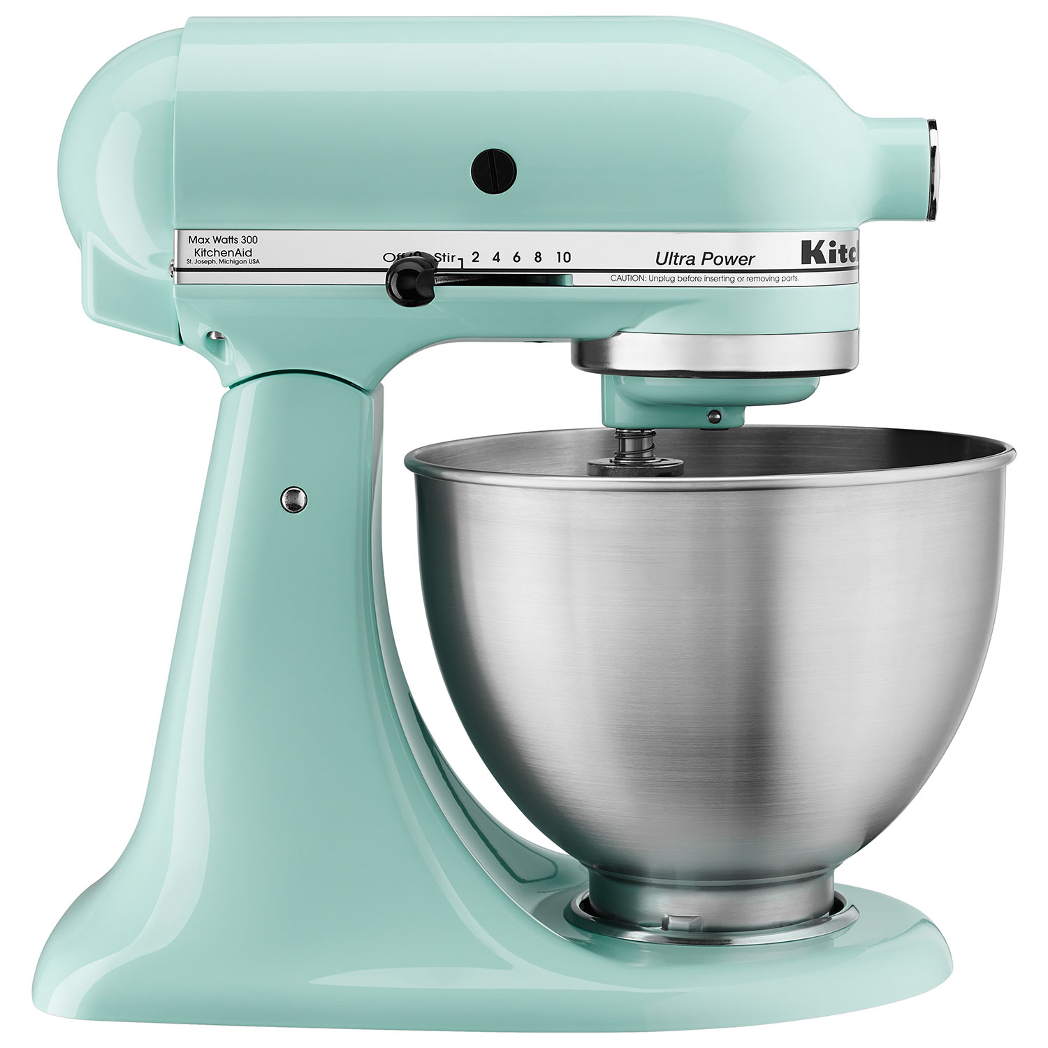 Perfect KitchenAid Ultra Power Stand Mixer   4.26L   300 Watt   Ice Blue : Stand  Mixers   Best Buy Canada