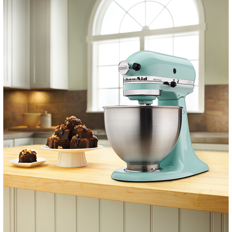 KitchenAid Ultra Power Stand Mixer   4.5Qt   300 Watt   Ice Blue : Stand  Mixers   Best Buy Canada