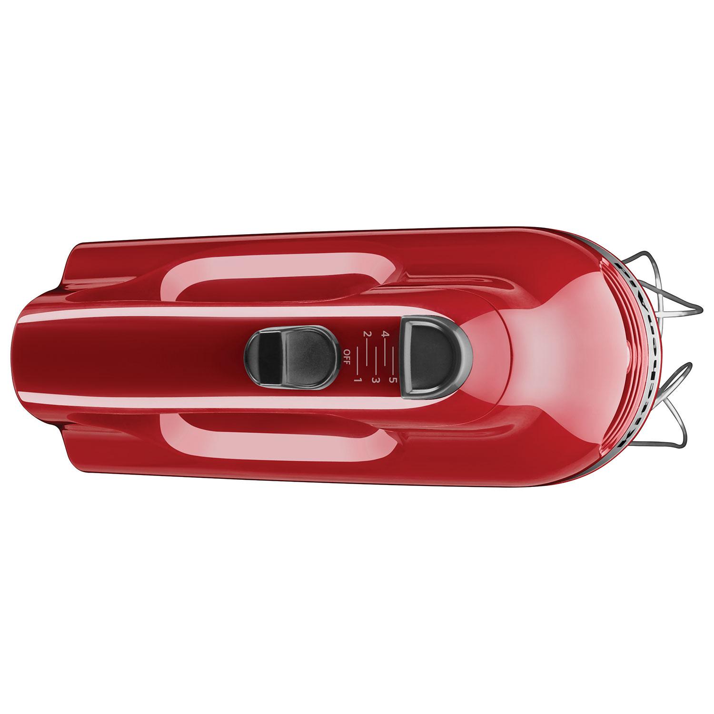 kitchenaid ultra power 5speed hand mixer khm512er empire red hand mixers best buy canada - Kitchen Aid Hand Mixer