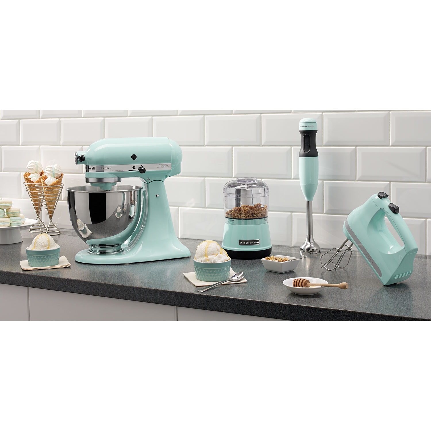 Exceptional KitchenAid Ultra Power 5 Speed Hand Mixer (KHM512IC)   Ice Blue : Hand  Mixers   Best Buy Canada