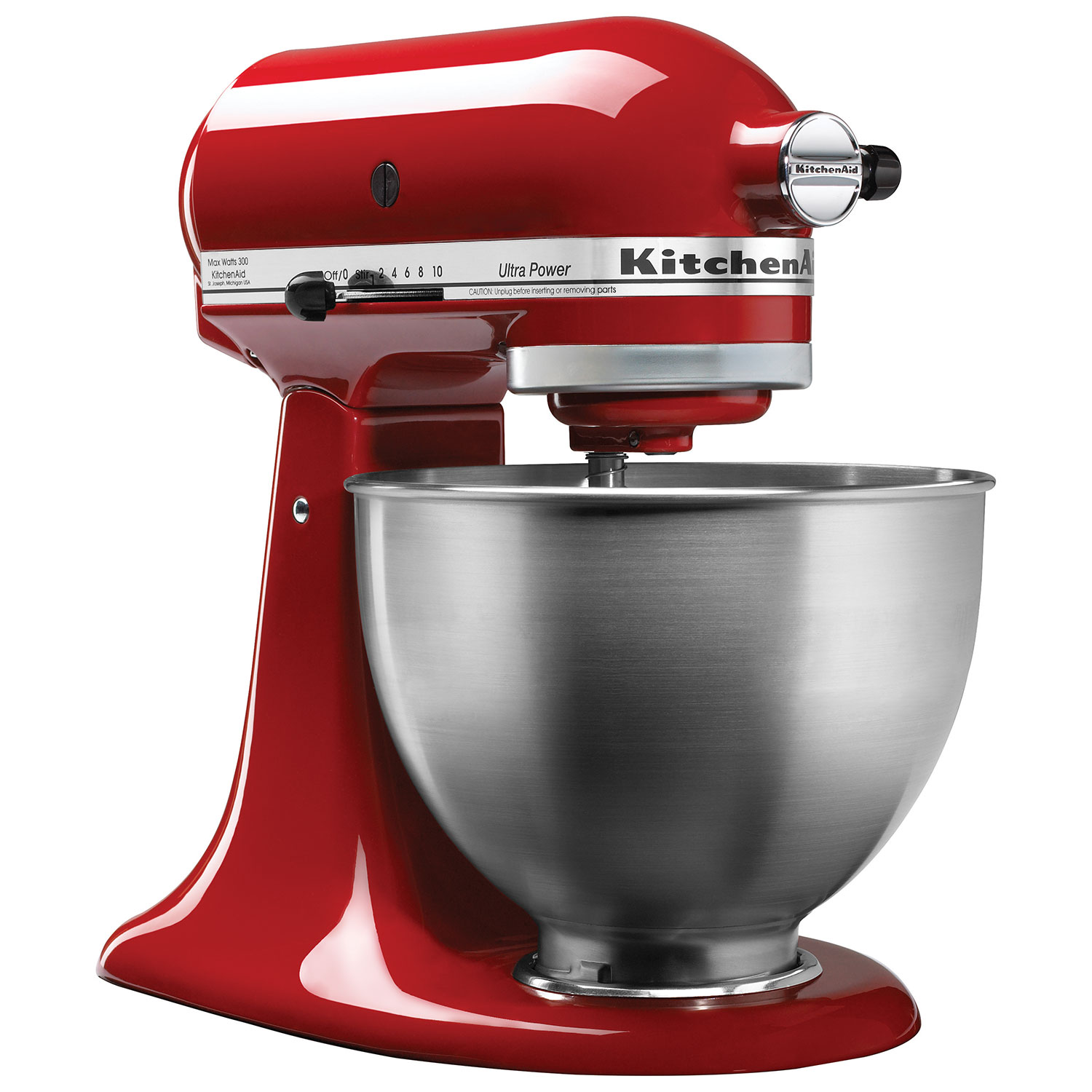 KitchenAid Ultra Power Stand Mixer   4.5Qt   300 Watt   Empire Red : Stand  Mixers   Best Buy Canada