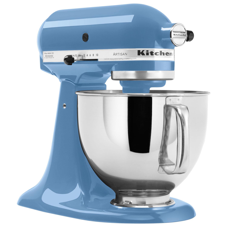 KitchenAid Artisan Stand Mixer 5Qt 325 Watt Cornflower Blue