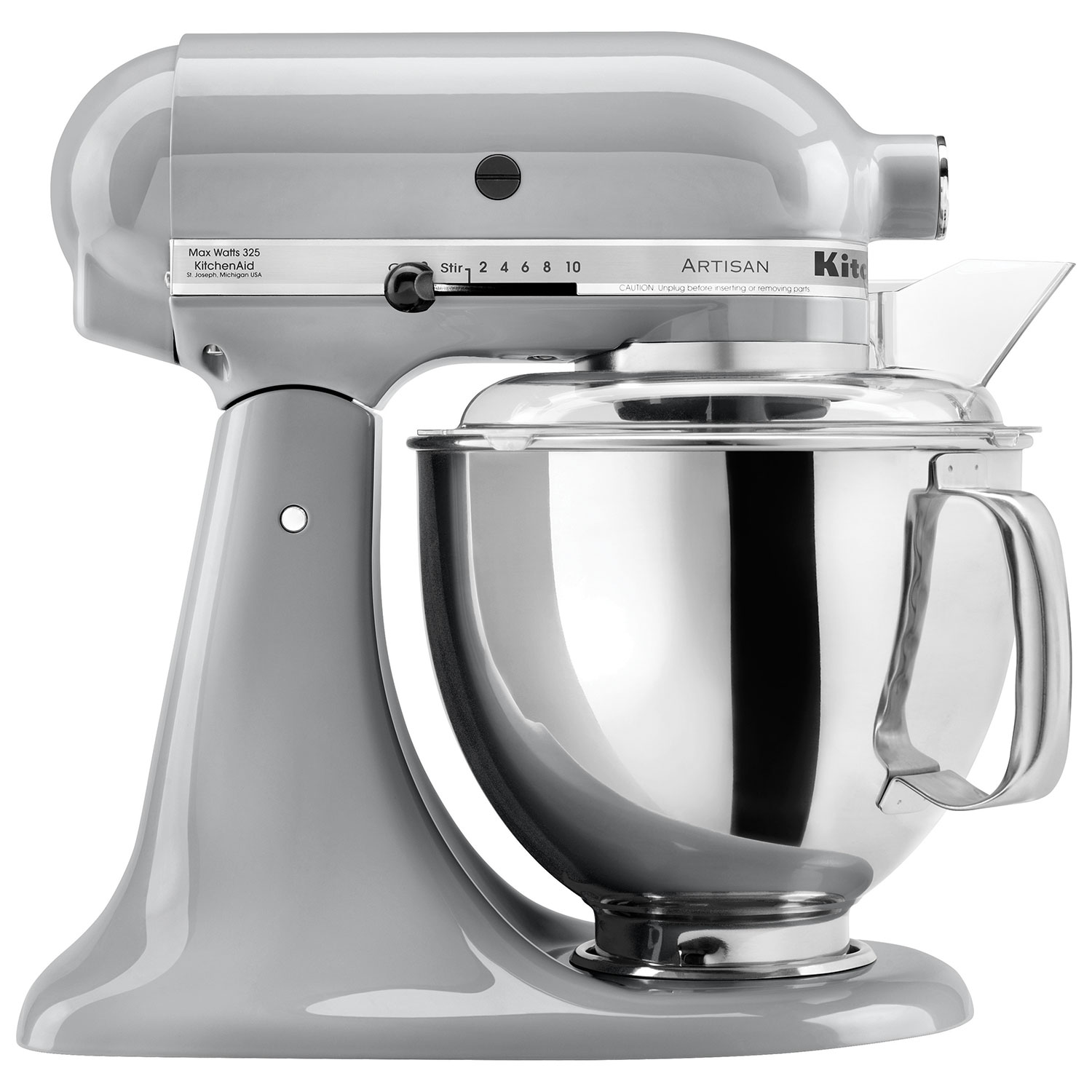 KitchenAid Artisan Stand Mixer   4.73L   325 Watt   Metallic Chrome : Stand  Mixers   Best Buy Canada