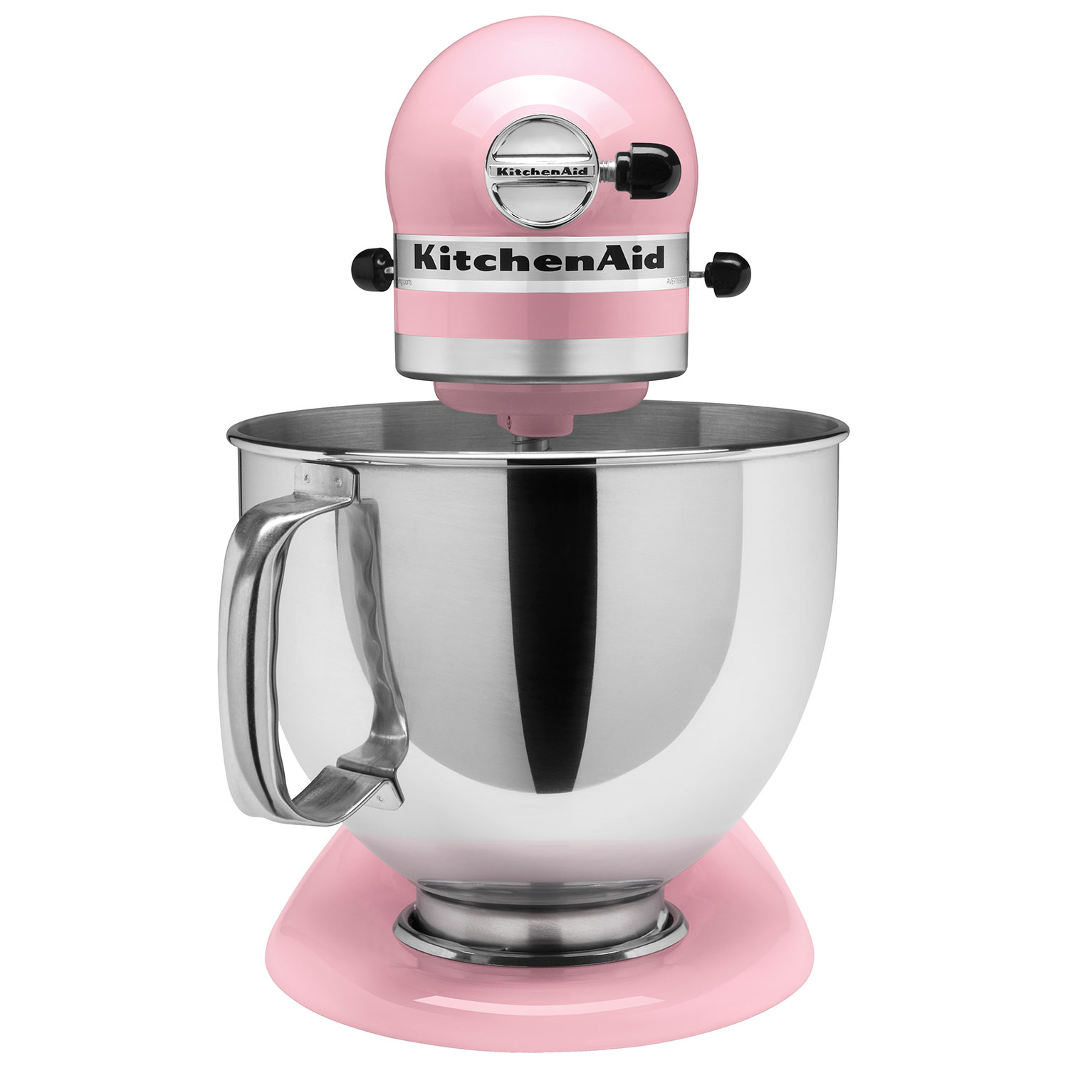 Kitchenaid pink food processor - Kitchenaid Artisan Stand Mixer 4 73l 325 Watt Pink Stand Mixers Best Buy Canada