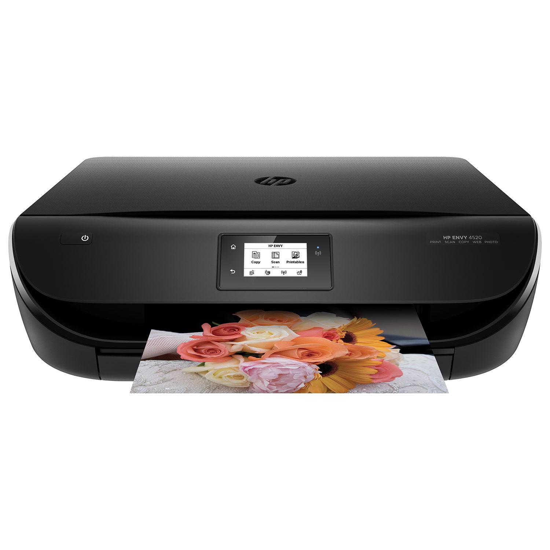 HP Envy 4520 Wireless Colour All In One Inkjet Printer Inkjet